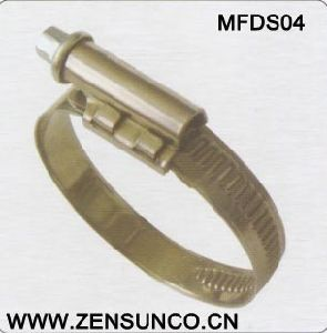 German Type High Quality Worm Drive Hose Clamp 12mm Mfds04 pictures & photos