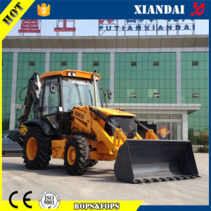 Jcb 3cx Type High Quality Backhoe Loader Excavator with Aguer / Breaker /Fork/4 in 1 Bucket (XD850) pictures & photos