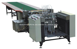 Hardcover Box Paper Automatic Gluing Machine (YX-650A) pictures & photos