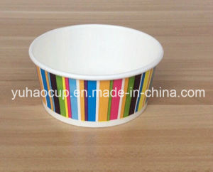 Customized Ice Cream Cup with Lid (YH-L156) pictures & photos