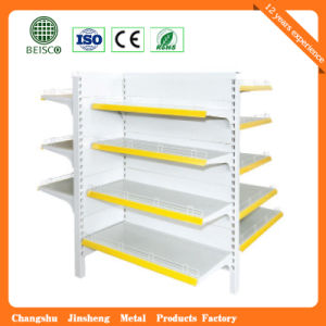 Four Way Supermarket Store Display Rack pictures & photos