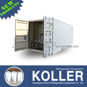 2 Tons/Day Industrial Commercial Containerized Clear Block Ice Machine pictures & photos