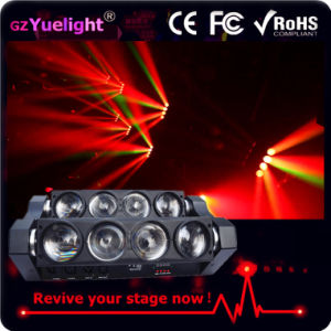 Best Price for Spider 8 Eye Bar 8*12W Full Color LED Spider Beam Moving Head Light pictures & photos
