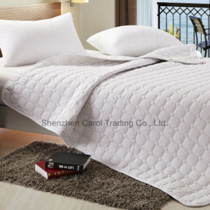 Quilted Synthetic Fiber Hotel Textile Mattress Protector pictures & photos