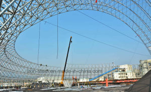 Morden Round Space Truss Roof Frame Steel Library Building pictures & photos