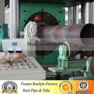 ASTM A252 Gr. 3/API5l Grb Spiral Welded Steel Pipe for Water Project pictures & photos