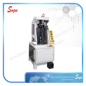 Xx0183 Automatic Shoe Heel Seat Moulding Machine pictures & photos