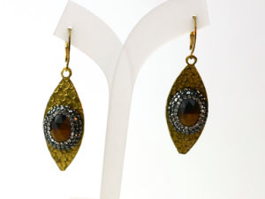 High Quality Eye Copper Jewelry Earrings