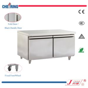 Two Door Commercial Refrigerated Working Table (48F) pictures & photos