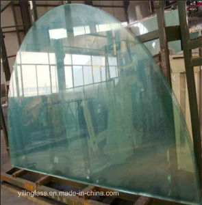 Clear or Patterned Tempered Shaped Glass for Furniture pictures & photos