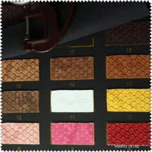 High Quality Customized Synthetic Leather & Faux Leather for Shoes (S185100) pictures & photos