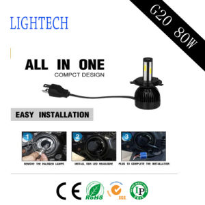 Newest Auto Accessories 4-Side High Brightest 8000lm with LED Tail Lamp and HID Xenon Kit (H1 H3 H4 H7 H11 H13) pictures & photos