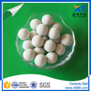 25mm 17% Alumina Inert Ceramic Balls as Support Media, Catalyst Carrier pictures & photos
