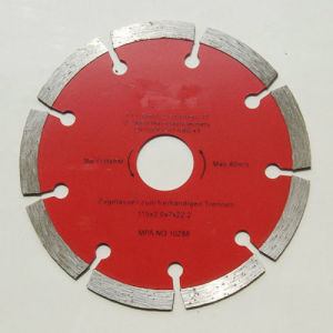 Diamond Saw Blade for Cutting Building Materials pictures & photos