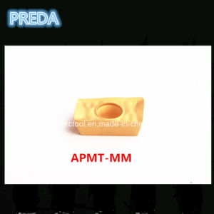 CNC Carbide Tips Apmt1135pdr Gold Color Factory pictures & photos