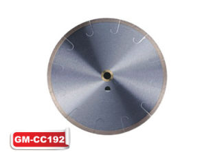 Continuous Rim J-Slot Tile Blade (GM-CC192) pictures & photos