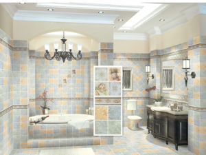 Bathroom Wall and Floor Glazed Ceramics Tile pictures & photos