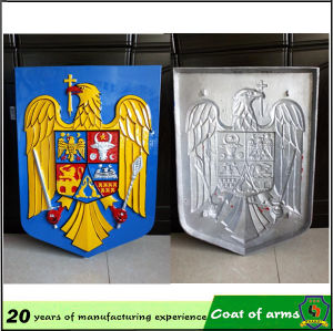 Custom 3D Rwanda Metal Emblem pictures & photos
