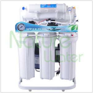 Five Stage Domestic Water Purifier with Stand and Pressure Gauge pictures & photos