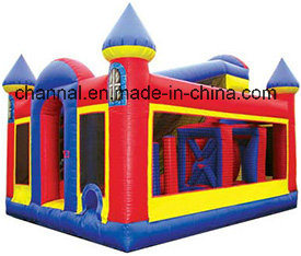 New Arrival Red Castle Course Inflatable Bouncer Combo for Kids pictures & photos