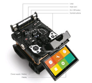 Better Use Optical Splicing Machine Fusion Splicer with Good Price (inno VIEW5)