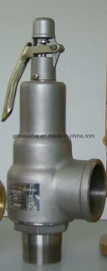 Kunkle Type Threaded Brass/Bronze/Stainless Steel Full Lift Safety Valve (A28H) pictures & photos