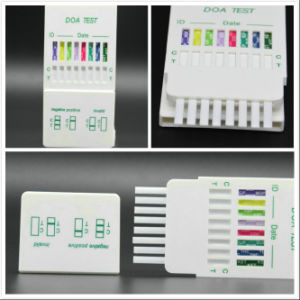 10 Panel Urine Drug Test Device DIP Card Cup pictures & photos