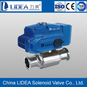 High Performance PTFE Electric Ball Valve Ldbaak Made in China
