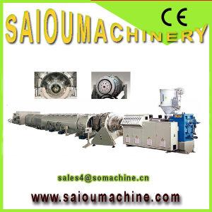 PP PE PVC Plastic Corrugated Pipe Threading Machine pictures & photos