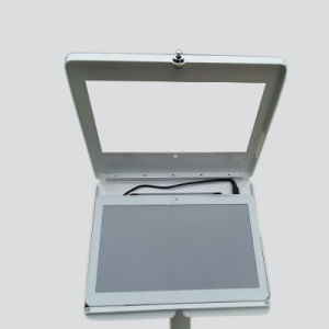Metallic Tablet Display Stand with Lock Enclosured pictures & photos