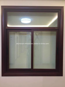 Electrophoresis Bronze Aluminium Sliding Window pictures & photos