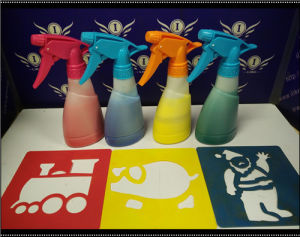 Ilike Kids Playing Caton Spray Chalk pictures & photos