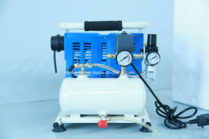 Tat-1004 1.0HP 4L Hand Carry Oii Free Silent Air Compressor pictures & photos
