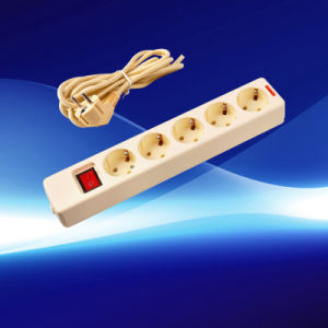 Multiple Outlets 5 Gang Sockets with The Wire (YW5010-K-B-A)