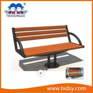 High Quality Wooden Log Garden Bench pictures & photos