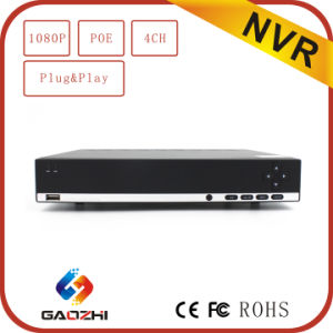 4CH 2MP 1080P P2p Built-in Poe Swann NVR pictures & photos