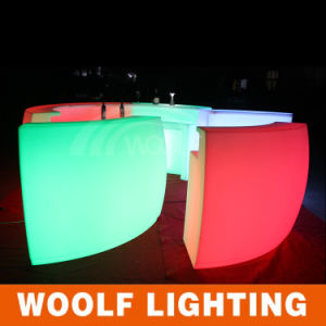 Portable LED Furniture Garden Party Bar Table pictures & photos