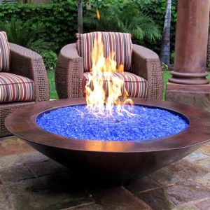 Blue Fire Glass pictures & photos