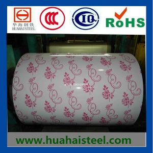 Color-Coated Galvanized Corrugated Steel Coil pictures & photos