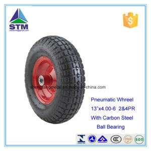 10 Inches Polyurethane (PU) /Pneumatic Hand Truck Wheel pictures & photos