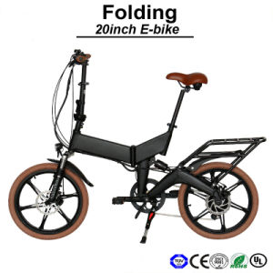 Ks Shock Absorber Folding Mini E-Bike E-Bicycle Electric Bicycle Electric Bike (TDN11Z) pictures & photos