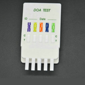 5 Panel Drug Tests Test Thc AMP Cocaine Opi Mamp Combo Dipcard pictures & photos
