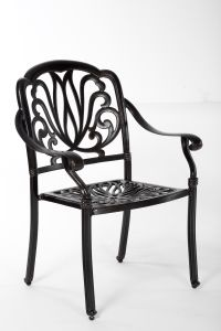 Classic Outdoor Cast Aluminum Stationary Chair Furniture pictures & photos