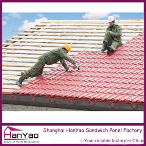 Customized House Color Metal Steel Corrugated Roof Tiles pictures & photos