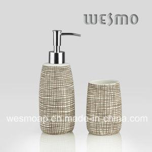 Porcelain Bathroom Set with Curving Lines (WBC0644B) pictures & photos