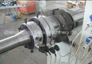 PP PE PVC Single (double) -Wall Corrugated Pipe Extrusion Plant pictures & photos
