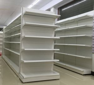 Supermarket Metal Shelving Rack pictures & photos