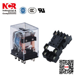 24VDC General Purpose Relay/Industrial Relays (HHC68B-2Z) pictures & photos