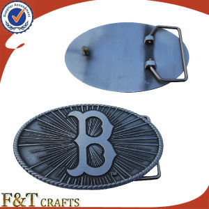 Make Antique Nickle Zinc Alloy Custom Belt Buckle for Your Desgin pictures & photos