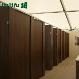 Jialifu Congo International Airport HPL Toilet Cubicle Partition pictures & photos